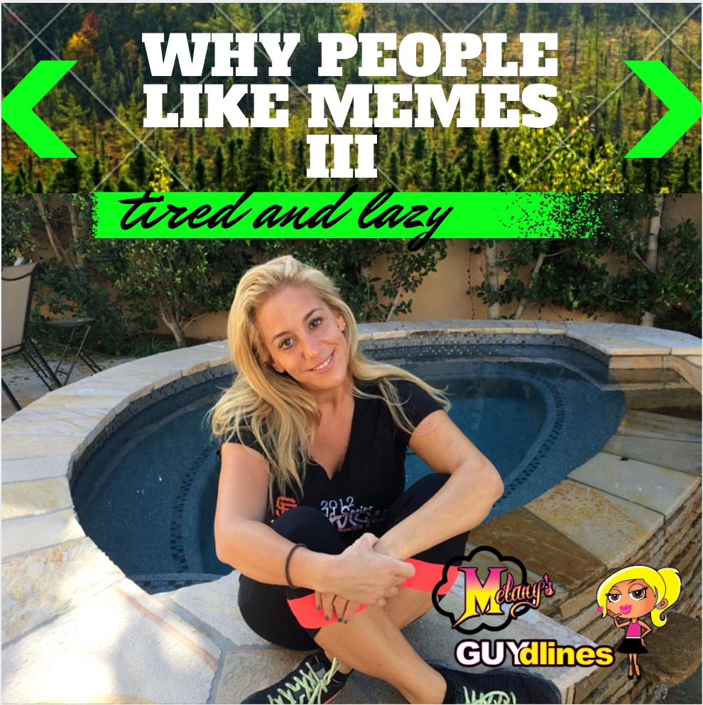 Why People Like Memes III: Tired And Lazy