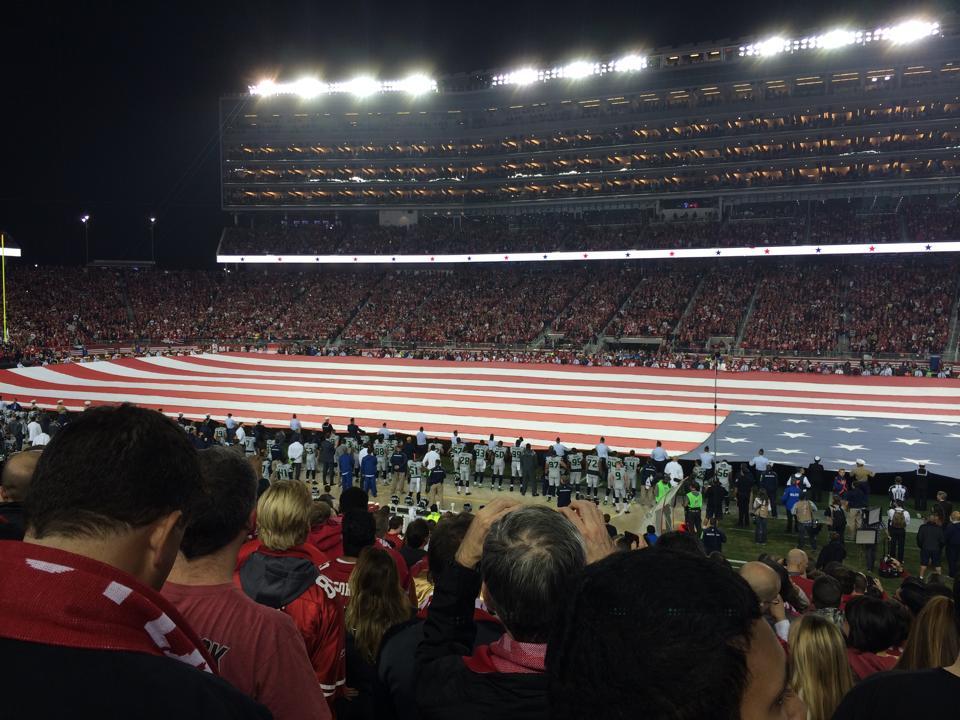 American Flag  - Levis Stadium
