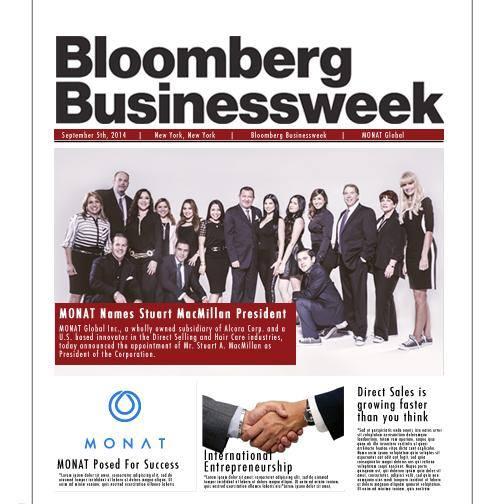 Monat in Bloomberg!