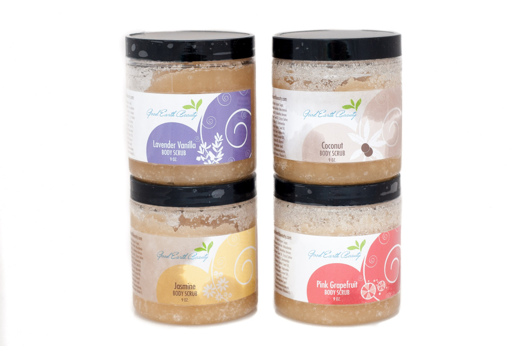 Good earth beauty scrubs