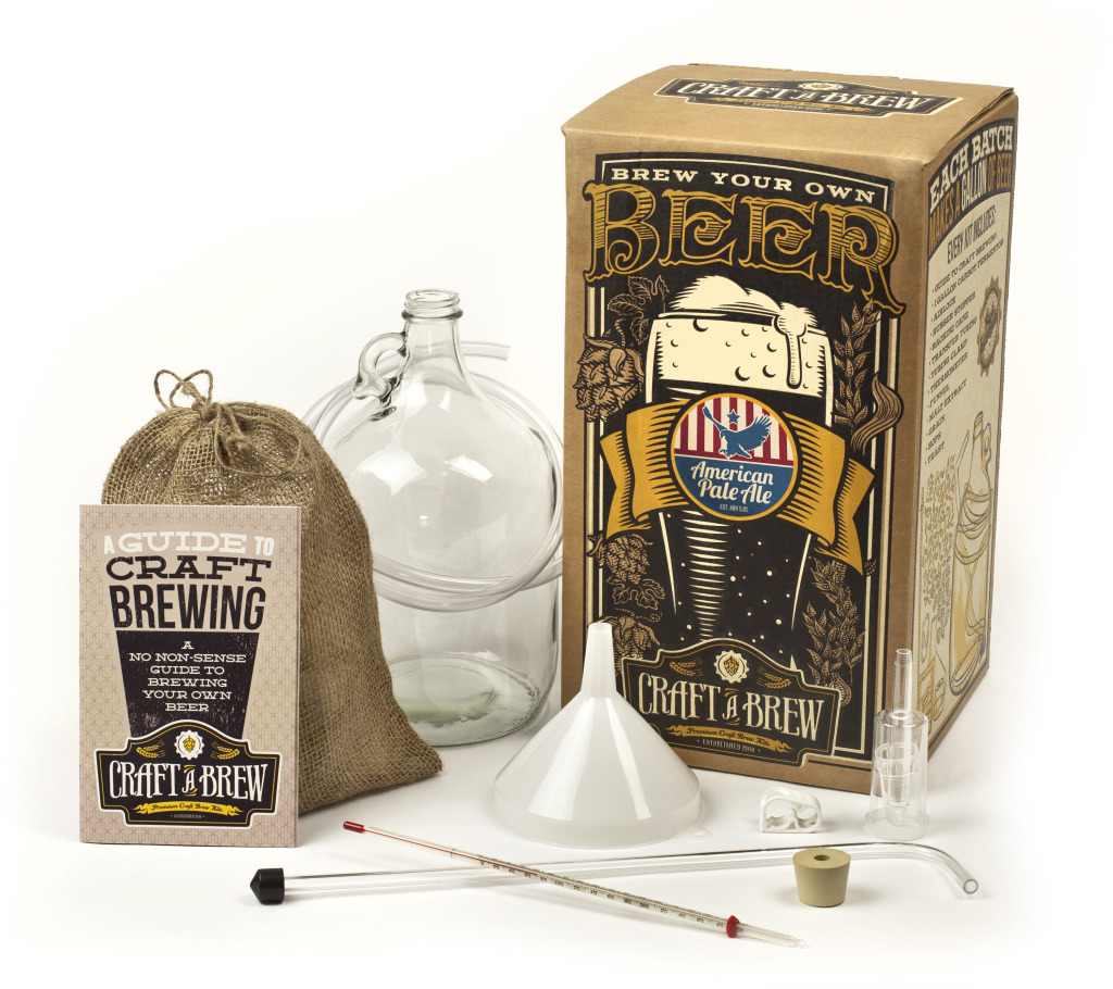 Craft a beer brewing kit