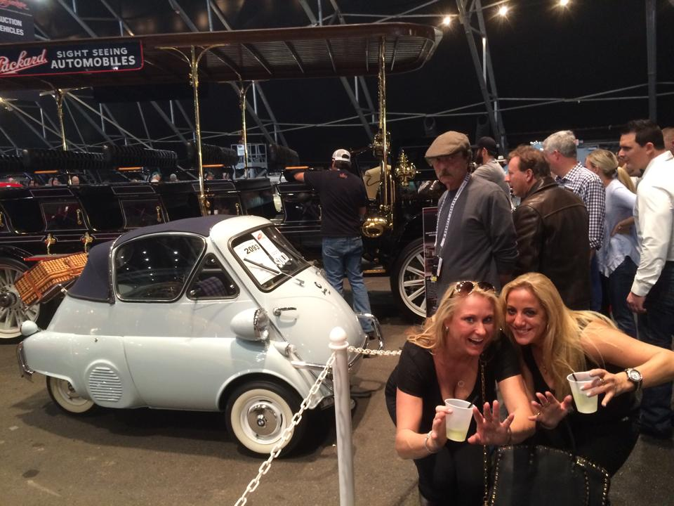 Barrett Jackson Car Show - Short Cars for Horizonally Challenged people!