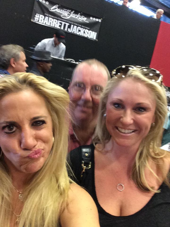 Barett-Jackson Scottsdale selfie