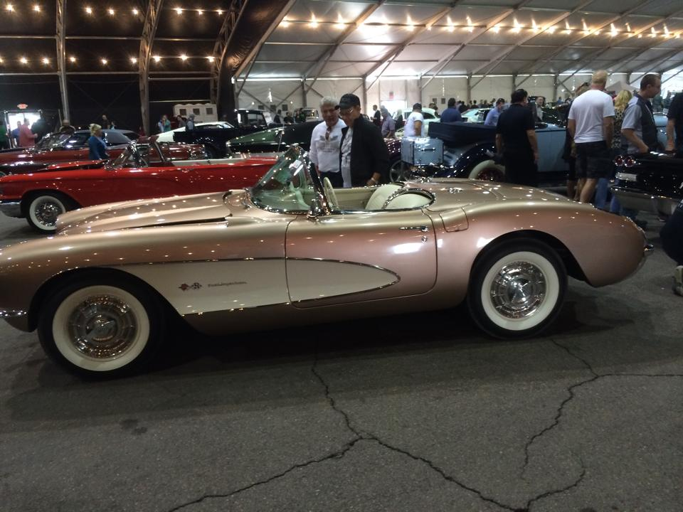 Barrett Jackson Car Show -prettiest car