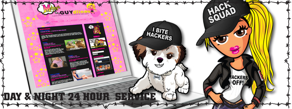 I bite hackers - Melanysguydlines
