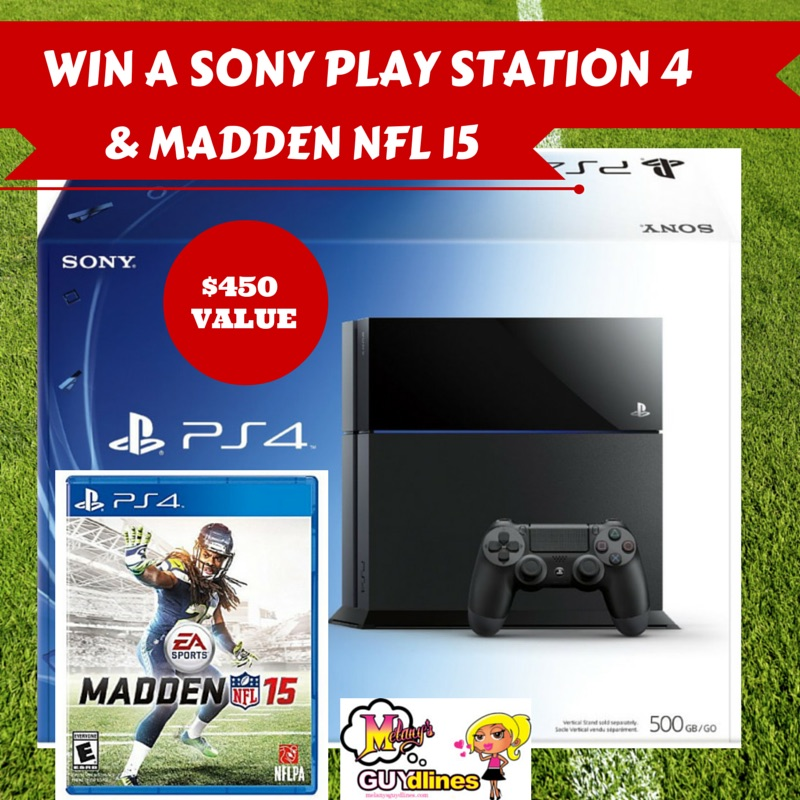Win a Sony Playstation and Madden NFL 1