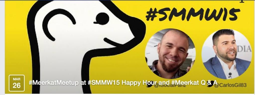 Meerkat meet up! #smmw15
