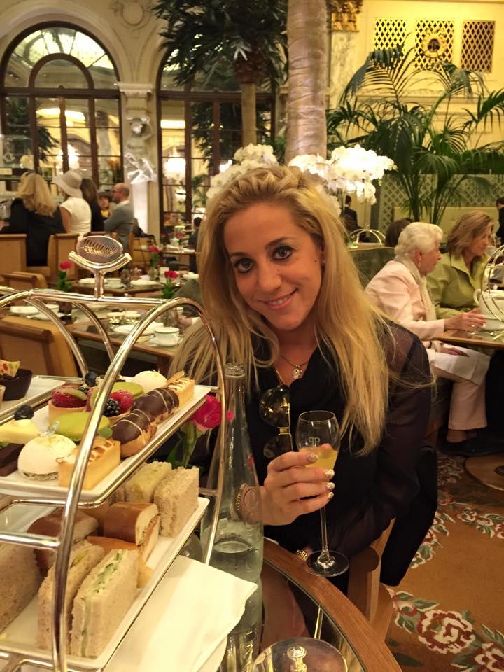 Melanysguydlines at the Plaza hotel for the Shorty Awards!