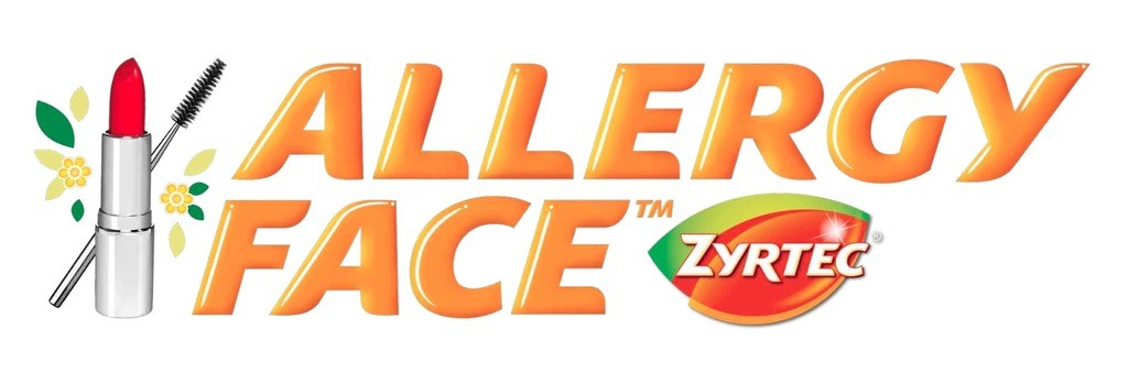 Allergy Face Logo  - fight allergies with Zyrtec