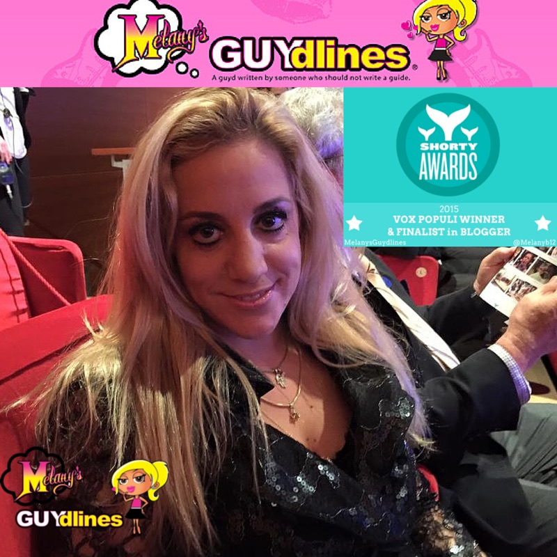 Melanysguydlines Vox Populi Blogger winner Shorty Awards 2015