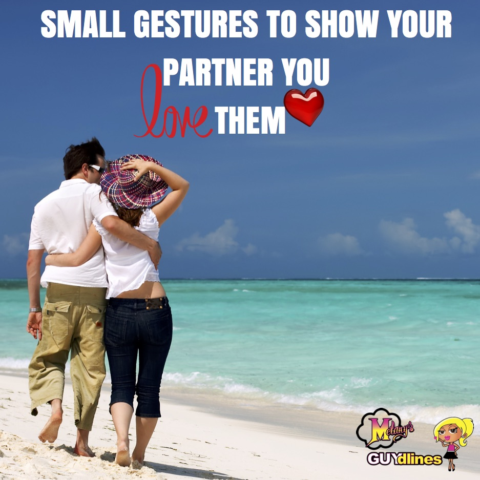 Small Gestures To Show Your Partner You Love Them