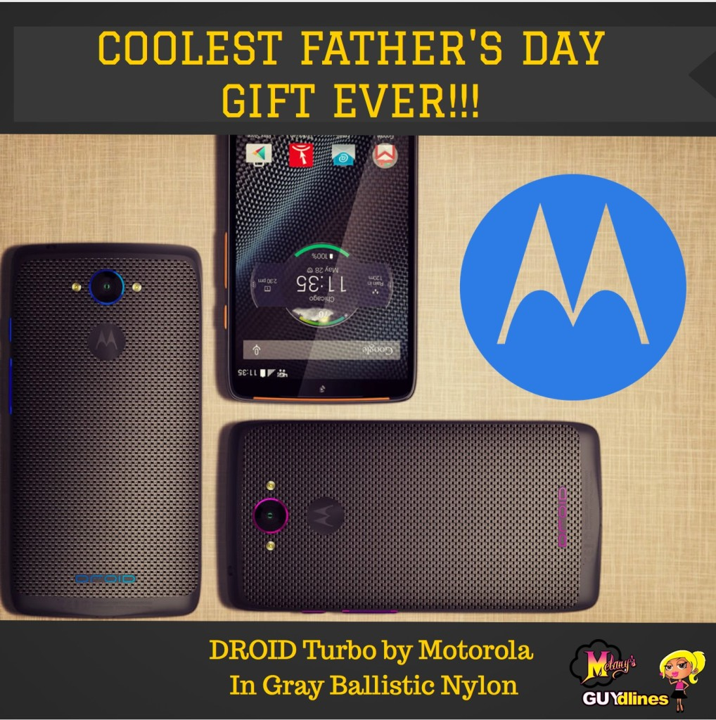 Coolest Father's Day Gift Ever: DROID Turbo By Motorola in Gray Ballistic Nylon