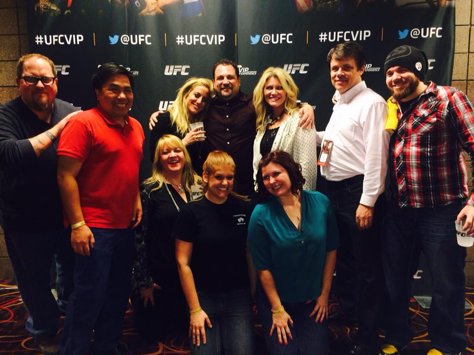 This was not a Get Started event! This was a UFC and social media influencer rockstar gathering!