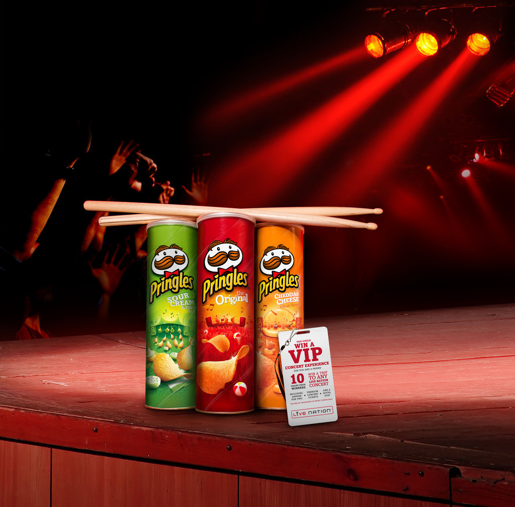 Pringles® Summer Jam: Rock, Eat, Play & Win VIP Style