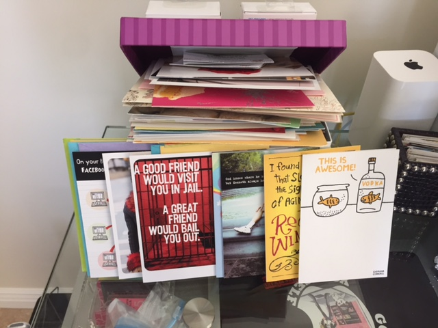 You Say Rebellious, I Say Snarky Humor: Shoebox Cards