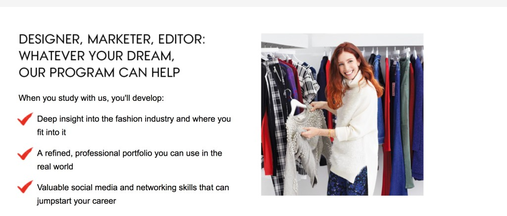 Teen Vogue/ Parson School Online Fashion Certificate