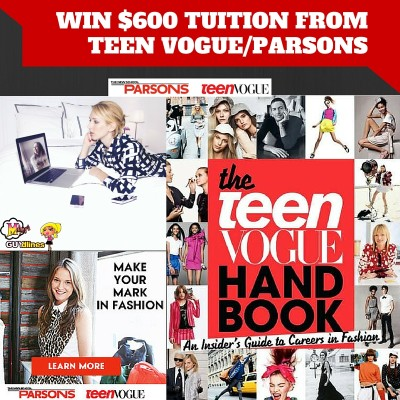 Fashions Finest: Win $600 Tuition From Teen Vogue/Parsons School