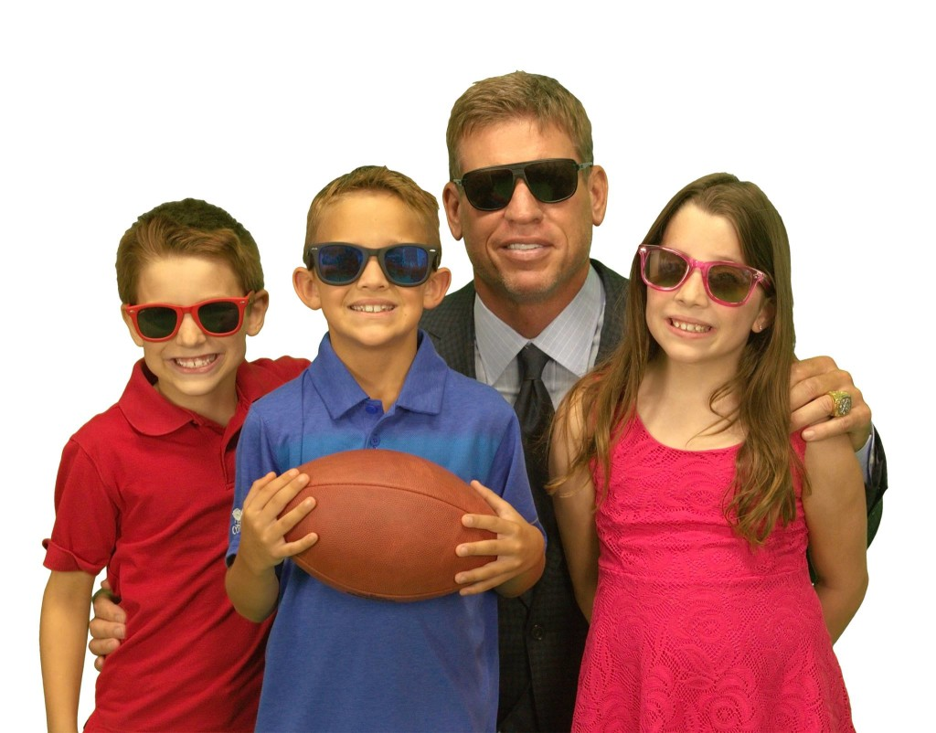 Waveborn sunglasses and Troy Aikman