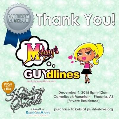 #GivingTuesday: MelanysGuydlines Sponsors Push For Love's Holiday Benefit For Sunshine Acres Children's Home