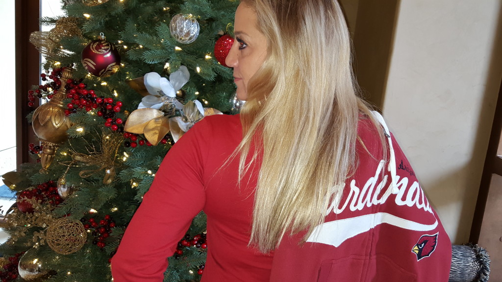 Cheering The AZ. Cardinals To The 2016 Playoffs #NFLFanStyle #CG