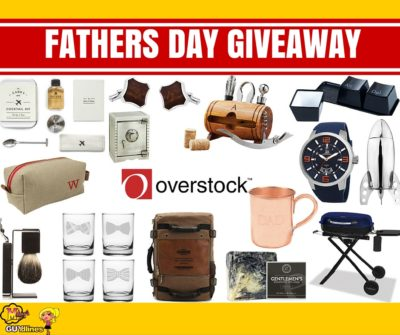 Win a Father's Day Gift Basket From Overstock Worth $630