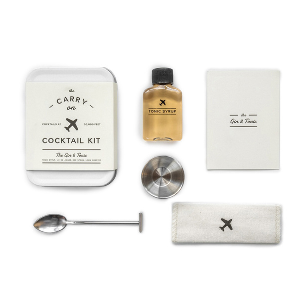 'The Gin and Tonic' Carry On Cocktail Kit