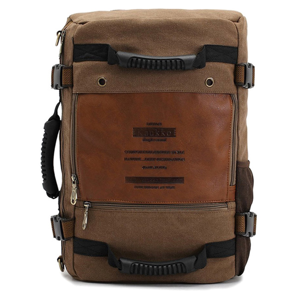 Kaukko Canvas Hiking Camping Backpack