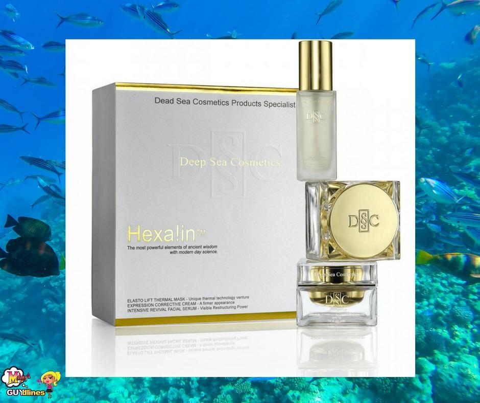 Win $1500 Deep Sea Cosmetics HEXALIN™ Kit: My Beauty Secret Revealed