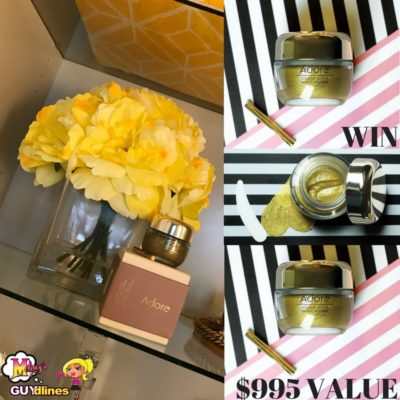 Win $995 Adore Cosmetics Golden Touch Magnetic Facial Mask: Look Like A Million Bucks