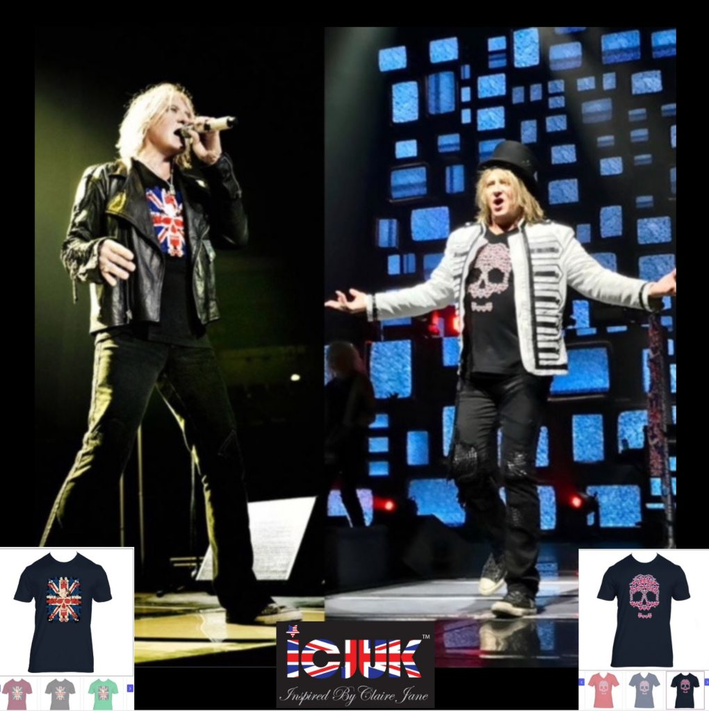 Win 2 Def Leppard/Journey Tickets Of Your Choice, ICJUK + Prize Pack $600! Joe Elliot of Def Leppard in ICJUK.