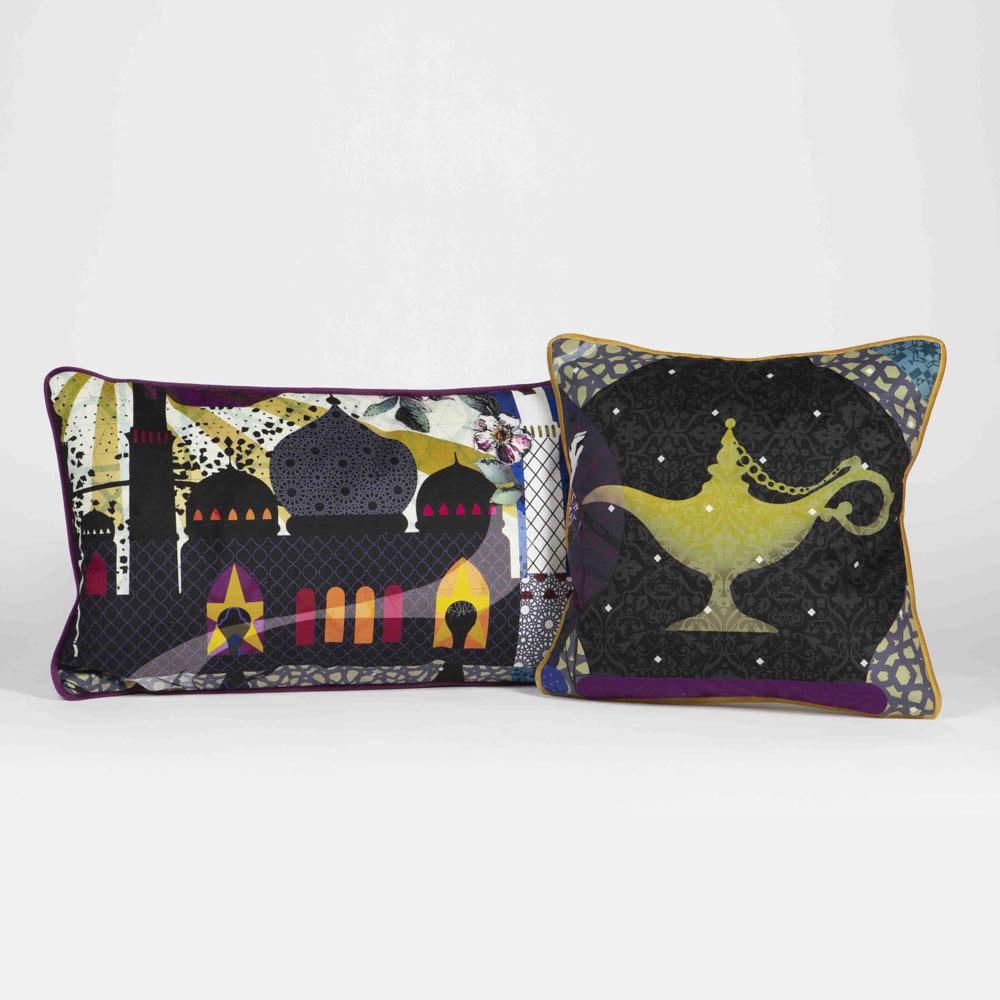 #3033 Roche Bobois Globe Trotter Pillows